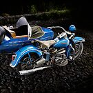 Rikuo with sidecar by Frank Kletschkus