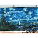 Venice Beach, Starry Knight by Anita Schuler