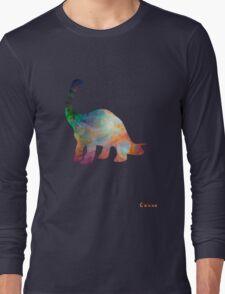 Space Diplodocus T-shirt Long Sleeve T-Shirt