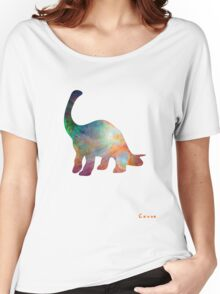 Space Diplodocus T-shirt Women's Relaxed Fit T-Shirt