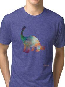 Space Diplodocus T-shirt Tri-blend T-Shirt
