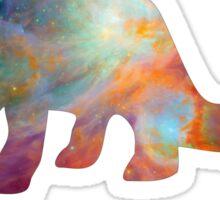Space Diplodocus T-shirt Sticker