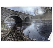 Water Under The Bridge || Bridge over Endrick Water, Fintry Poster