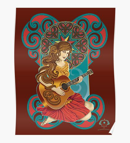 Acoustic Girl Poster