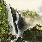 Waterfall - Norway by © Kira Bodensted