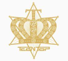 Teen Top Gold Star Logo by madiamondring