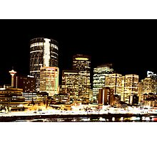 Night Shots Calgary Alberta Canada Photographic Print