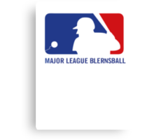 Major League Blernsball Canvas Print