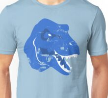 Cyan Tyrannosaurus Rex Unisex T-Shirt