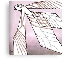 bird of diffusion Canvas Print