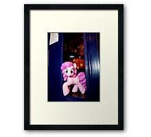 The whole of Time and Space? This needs A PARTY!!! Framed Print