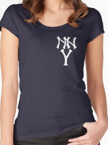 New New York Yankees Women's Fitted Scoop T-Shirt