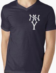 New New York Yankees Mens V-Neck T-Shirt