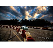Rally car Photographic Print