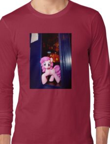 The whole of Time and Space? This needs A PARTY!!! Long Sleeve T-Shirt
