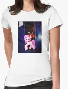 The whole of Time and Space? This needs A PARTY!!! Womens Fitted T-Shirt