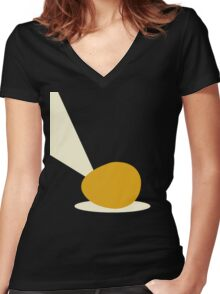 Deloused in the Comatorium Women's Fitted V-Neck T-Shirt