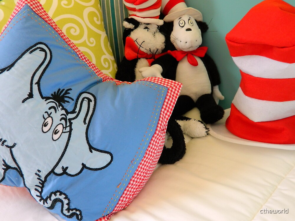 Reading Corner - Dr. Seuss by ctheworld