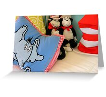 Reading Corner - Dr. Seuss Greeting Card