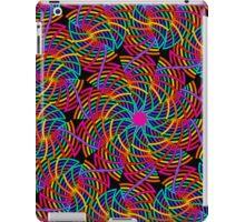 Rainbow Mills, fractal abstract design iPad Case/Skin