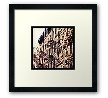 NYC Residents Framed Print