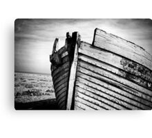 An old wreck Canvas Print
