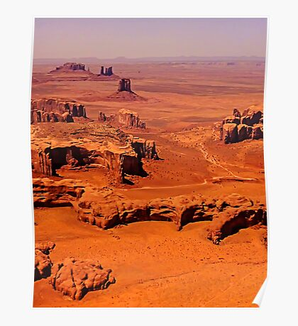 The Long View - Monument Valley, Utah, USA Poster