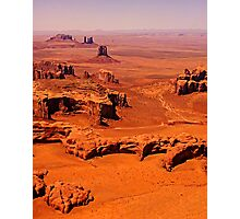 The Long View - Monument Valley, Utah, USA Photographic Print