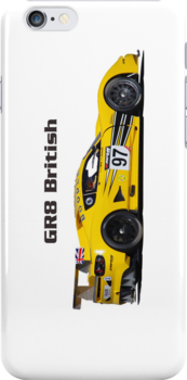 """GR8 British"" Chevron GTC race car (i-Phone case) by motapics"