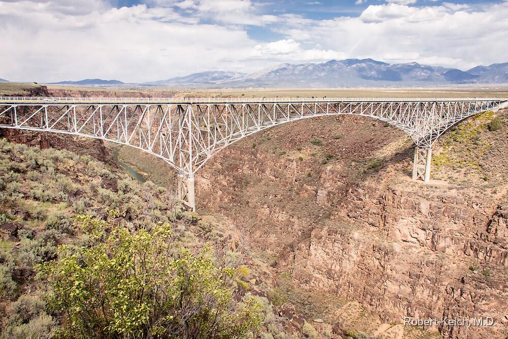 Bridge Over The Rio Grande River Gorge by Robert Kelch, M.D.
