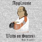 Applause Waits on Success - Philadelphia  Flyers by DCVisualArts