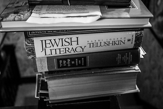 Jewish Literacy by Nevermind the Camera Photography
