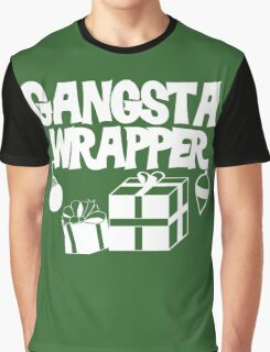 Gangsta Wrapper for Christmas Graphic T-Shirt