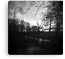 Twilight at Carbon Lake Canvas Print