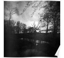 Twilight at Carbon Lake Poster