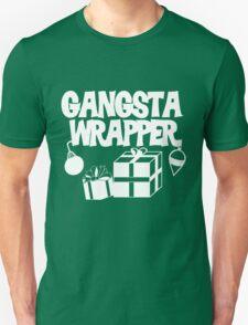 Gangsta Wrapper for Christmas Unisex T-Shirt