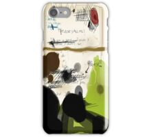 My letter didn't go well iPhone Case/Skin