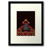The Shining  Danny Torrance Go Kart Framed Print
