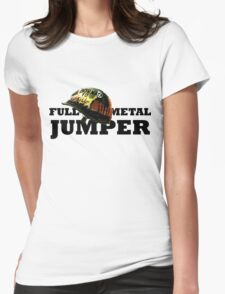 FULL METAL JUMPER Womens Fitted T-Shirt