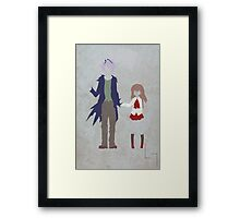 Garry & Ib Framed Print