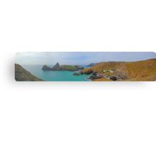 Kynance Cove Panorama Canvas Print