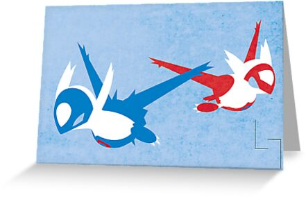 Latios & Latias by jehuty23