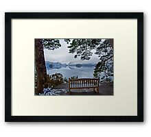 A time to reflect over the Jaws of Borrowdale Framed Print