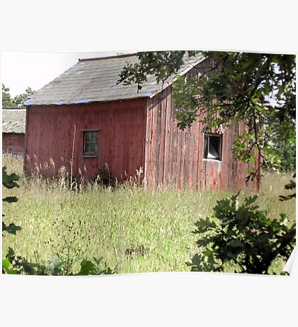 Old Barns of Wisconsin Poster