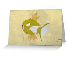 Magikarp Greeting Card