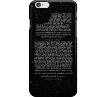 Carry On by Fun. iPhone Case iPhone Case/Skin