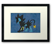 Luxray Framed Print
