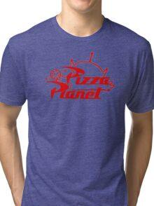 Pizza Planet! Ooooohhh! Tri-blend T-Shirt