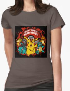 Pokemon Invade Womens Fitted T-Shirt