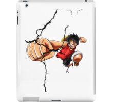 Luffy - Cracked iPad Case/Skin